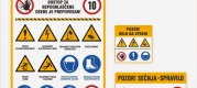 Oznake za varnost in zdravje pri delu, oznake za požarno varnost
